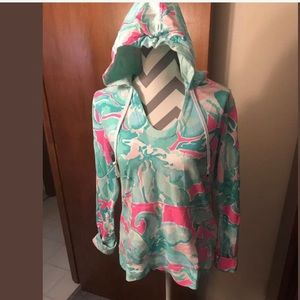 Lilly Pulitzer Pullover Hooded Top